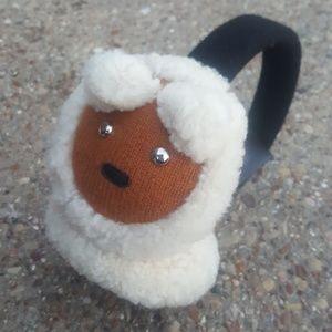 Coach Bear Earmuffs One Size Merino Wool NWOT